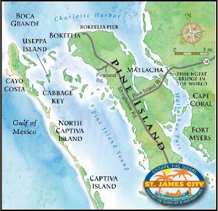 Pine Island Florida Map St. James City, Florida, Pine Island Pine Island Florida Map